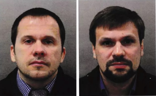 Two suspects in the attempted murder of Skripal
