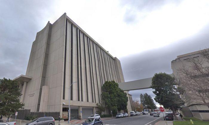San Mateo County Sheriff. 400 County Center, Redwood City, CA 94063. (Map data @2018 Google)