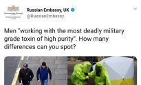 Russia Fights Nerve-Agent Attack Allegations With Disinformation Campaign