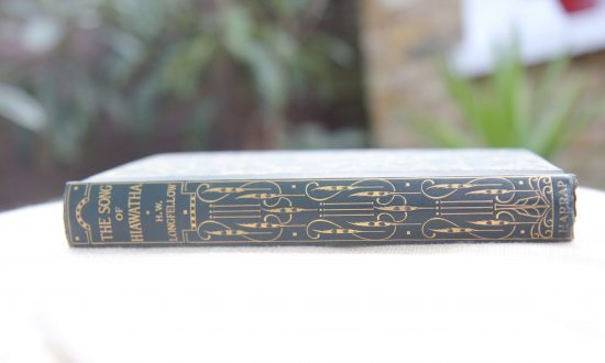 """One Thing I Cherish: My Grandmother's 1929 Edition of """"The Song of Hiawatha"""" by H.W. Longfellow"""
