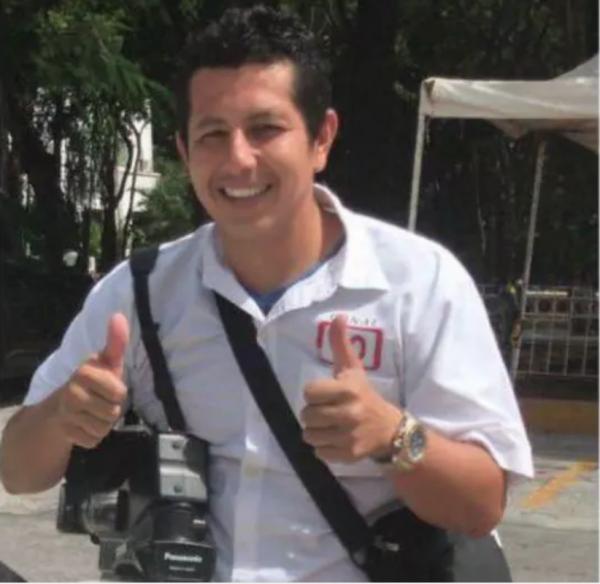 Mexican journalist Javier Enrique Rodríguez Valladares.