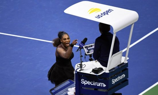 Statistics Appear to Back Up Umpire in Serena Williams Controversy as He Returns to Chair