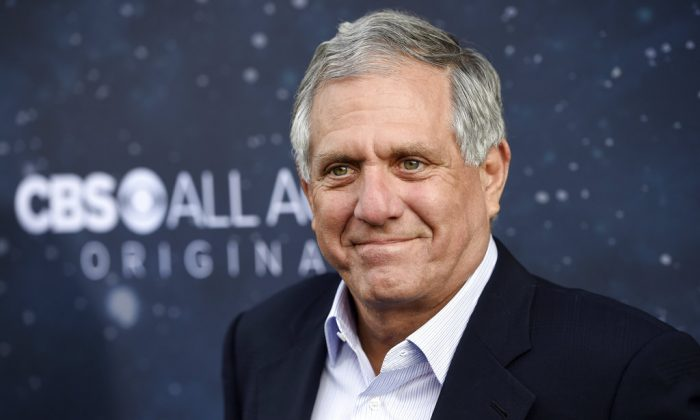 """Les Moonves, chairman and CEO of CBS Corporation, poses at the premiere of the new television series """"Star Trek: Discovery"""" in Los Angeles. On Sunday, Sept. 9, 2018, CBS said longtime CEO Les Moonves has resigned, just hours after more sexual harassment allegations involving the network's longtime leader surfaced. (Photo by Chris Pizzello/Invision/AP)"""