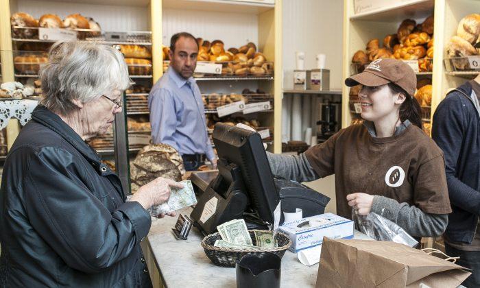 Orwasher's Bakery on the Upper East Side, New York, on April 4, 2014. (Samira Bouaou/Epoch Times)