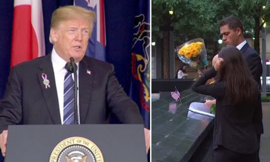 Videos of the Day: Trump Honors Band of Brave Patriots in Shanksville on 9/11