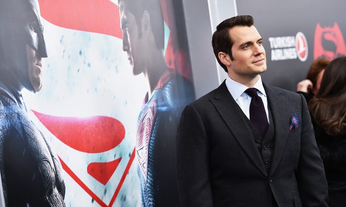 """Actor Henry Cavill attends the """"Batman V Superman: Dawn Of Justice"""" New York Premiere at Radio City Music Hall in New York City on March 20, 2016. (Photo by Dimitrios Kambouris/Getty Images)"""