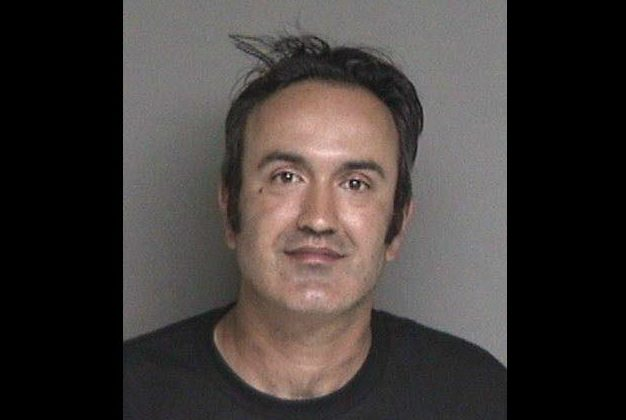 Farzad Fazeli, 35, who was arrested for attacking Republican congressional candidate Rudy Peters at a festival in Castro Valley, Calif., on Sept. 9, 2018. (Alameda County Sheriff's Office)