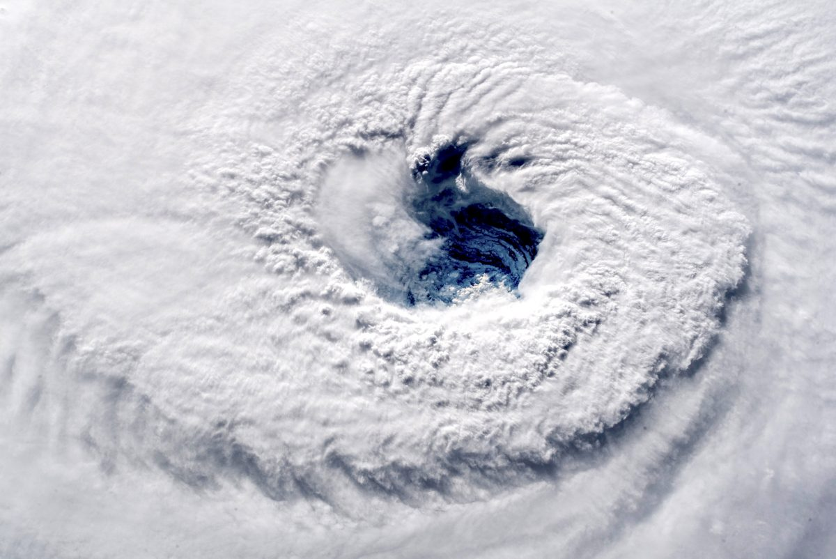 Photo of Hurricane Florence from space