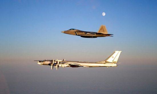 US Fighters Intercept Russian Warplanes Near Alaska