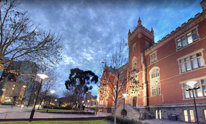 An entrance of the University of Adelaide taken on Aug. 2018. (Screenshot/Google Maps)