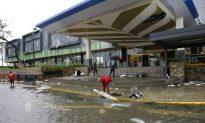 Ferocious Typhoon Plows Through Rain-Soaked Philippines