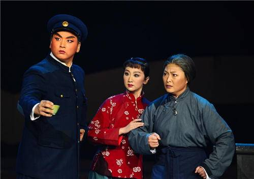 "A still from""The Legend of the Red Lantern,"" a Chinese communist ""model opera."" (Public Domain)"