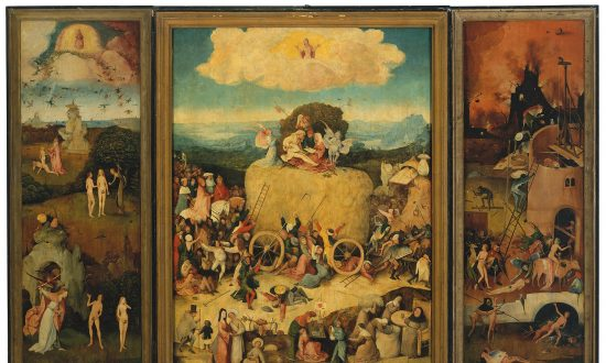 Grasping at Straw in Hieronymus Bosch's 'The Haywain'