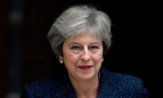UK's May Cautions: Support My Brexit Deal or Face No Deal