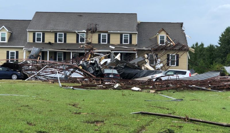Florence spawns reported tornadoes in Virginia, leaves at least 1 dead