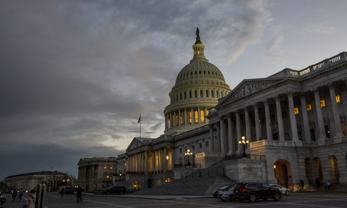 The Capitol Building in Washington on Feb. 26, 2018. (Samira Bouaou/The Epoch Times)
