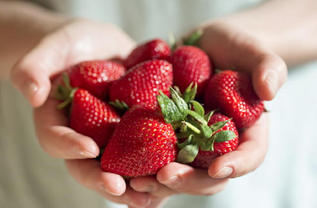 Strawberries consistently top the Dirty Dozen list. If there is anything you want to get organic, strawberries would be it. (Shutterstock)