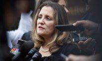 Freeland Resumes NAFTA Talks in Washington as Congress Grows Restless