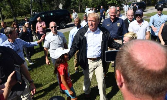 Trump Travels to North, South Carolina to See Florence-Damaged Areas