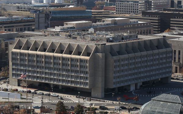 The U.S. Department of Health and Human Services, Hubert H. Humphrey Building in Washington