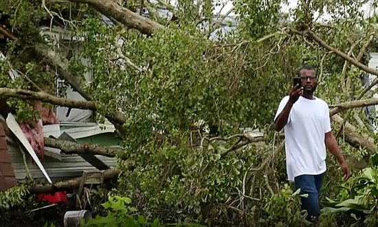 North Carolina Man Returns Home to Find His House Crushed