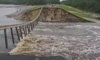 Video Shows Water Rushing Over Failed North Carolina Dam