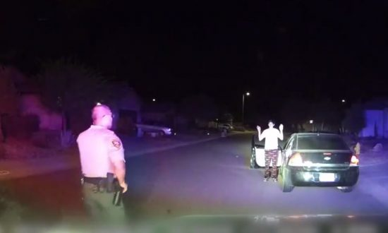 Dashcam Video: Arizona Burglary Suspect Fakes Compliance Before Trying to Run Over Deputy