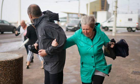 Woman Dies as Storm Winds Blow Caravan Off Cliff in Republic of Ireland