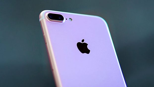 An iPhone 7 in an undated file photo. A Michigan mother saw theft charges related to her taking her daughter's iPhone dropped on Sept. 18, 2018. (Photo by Gonzalo Arroyo Moreno/Getty Images)