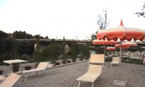 Rome's Promised Artificial Riverside Beach Opens After Delays; Faces Criticism