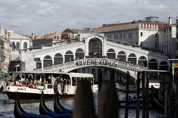 Venice tourists could face fines for sitting in un-designated spots