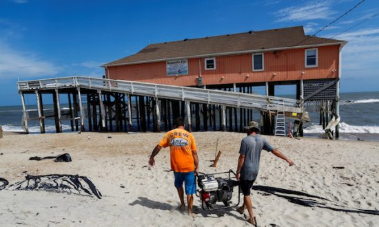 Hurricane Raises Questions About Rebuilding Along North Carolina's Coast