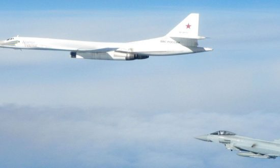 Russian Bombers Intercepted by UK Jets After Ignoring Air Traffic Control, Says UK