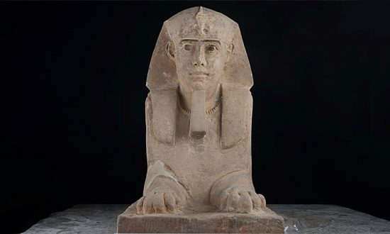 Well-Preserved Sphinx Statue Found in Egyptian Temple