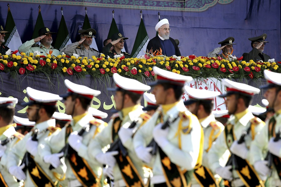 6m Attack on military parade in Iran
