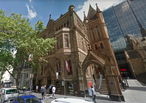 Scots' Church on Collins Street