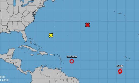 Tropical Storm Kirk Forms in Atlantic: NHC