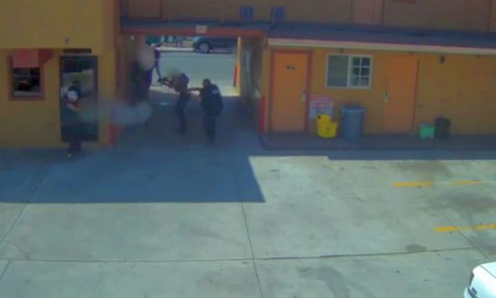 LAPD Video: Armed Murder Suspect Opens Fire at Officers, Injures FBI Agent