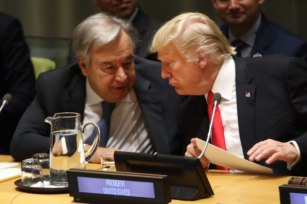 World leaders laugh openly at Donald Trump during United Nations summit