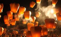 Lanterns Flood the Night Sky in Taiwan
