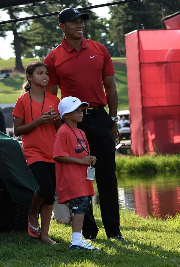 tiger woods says his children now understand  u2018rush u2019 and