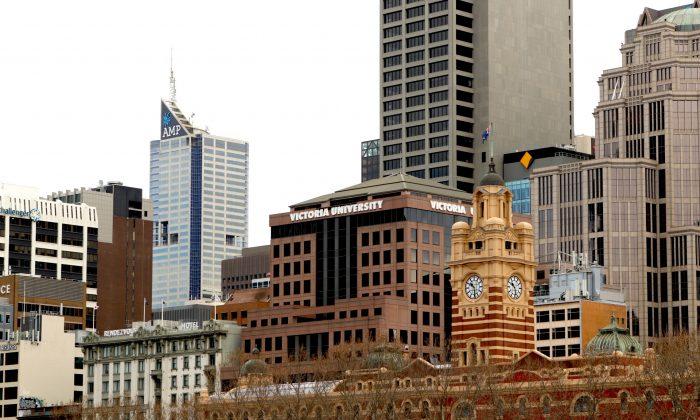 Victoria University in Melbourne, Australia. (Brendon Fallon/The Epoch Times)