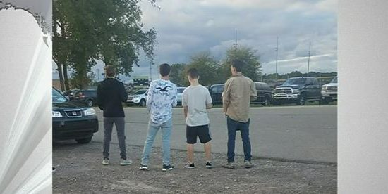 4 Teens Go Viral After Standing for National Anthem