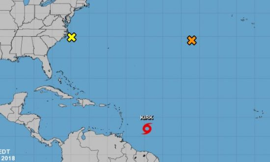 Hurricane Rosa, Tropical Storm Kirk Form: Latest Updates