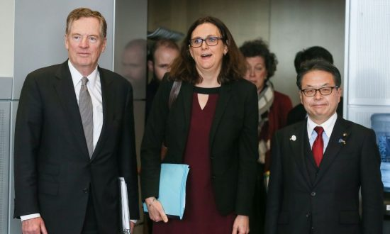 US, Japan, Europe Agree to Take on China and Reform WTO