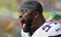 NFL Vikings' Everson Griffen Benched for Mental Issues