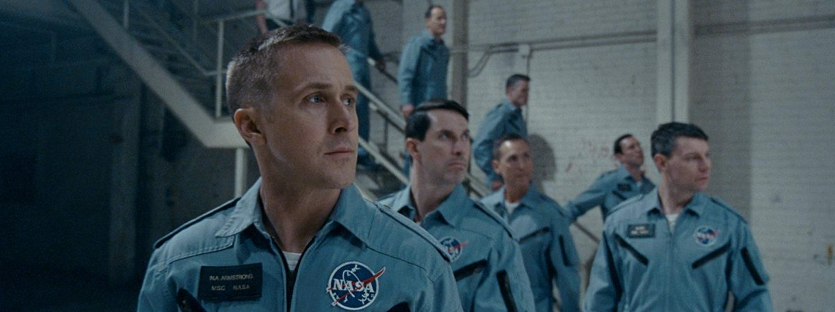 Gemini astronauts line up