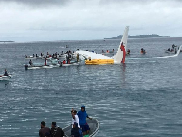 No Lives Lost in Boeing 737's Micronesia Lagoon Landing