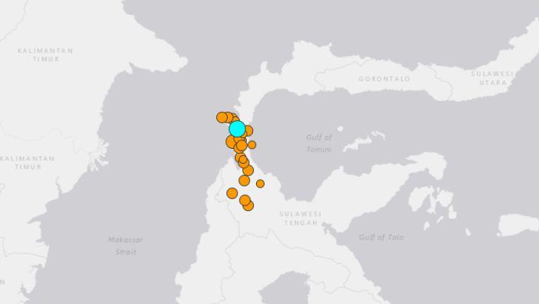 Powerful 7.5 magnitude natural disaster rocks Indonesian island