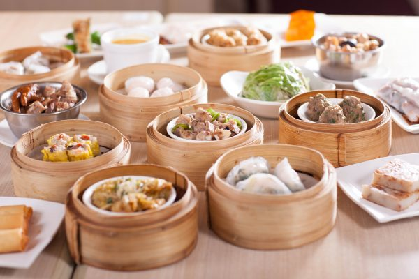 Dim sum spread at Tim Ho Wan